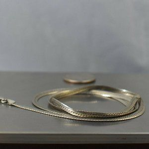 Vintage Jewelry - Vintage Italian Sterling Silver Necklace